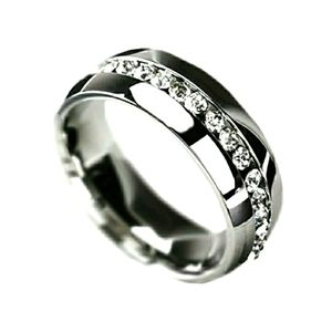 New stainless steel unisex ring